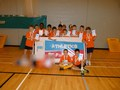 Year 5 & 6 Boys  Indoor Athletics County Champions<br>