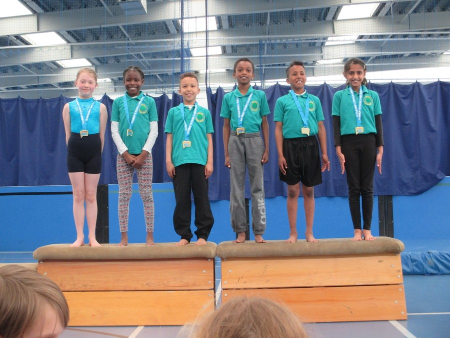 Well Done to the Year 4 Gymnastics squad winning the level 2 competition at City Academy.