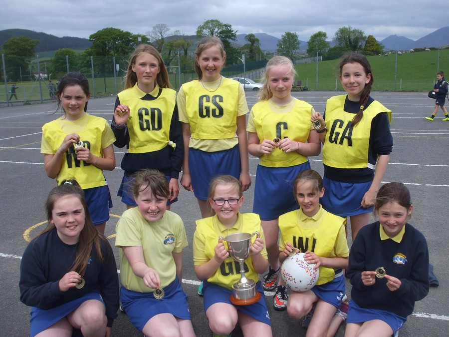 Gaelic Team won through to Semi finals. netball team went all the way to GOLD! Well done everyone - we are proud of you.