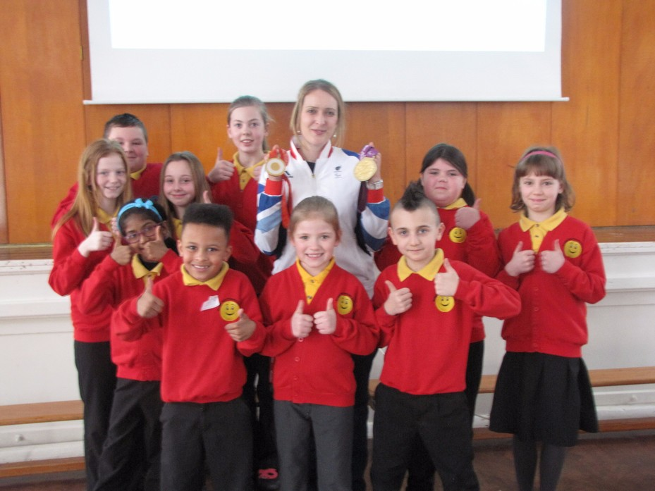 School Council and Danielle Brown