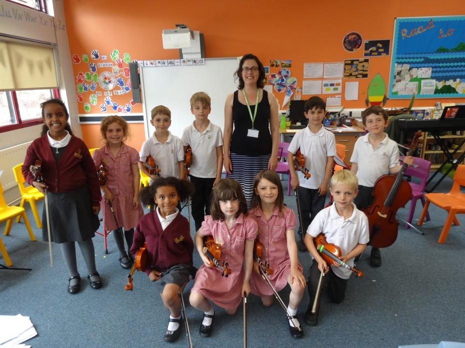 Orchestra & Violin Concert