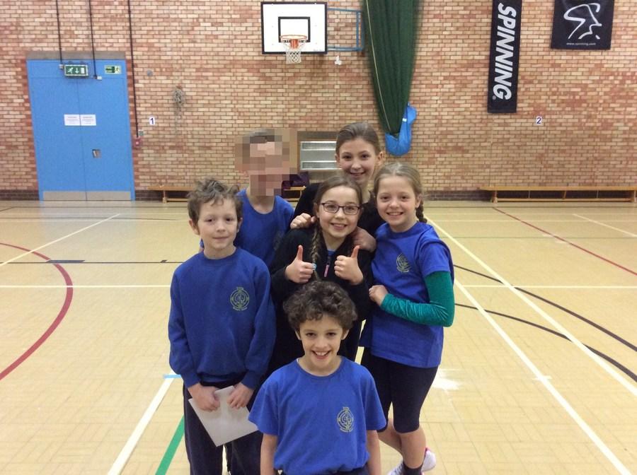 Years 5 and 6 Gymnastic winners