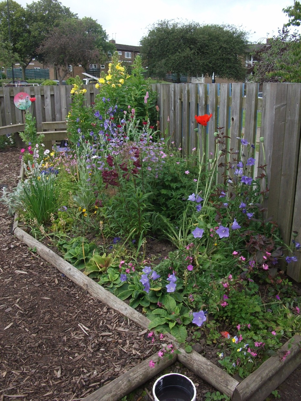 greenhill primary school sensory garden