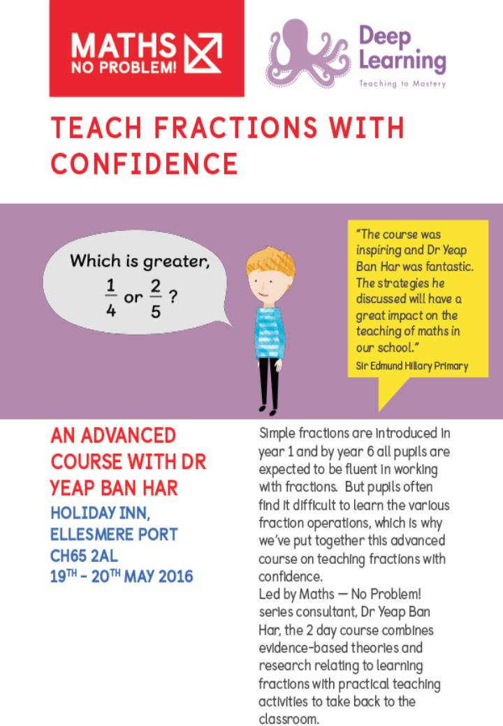 Teaching Fractions - May 2016