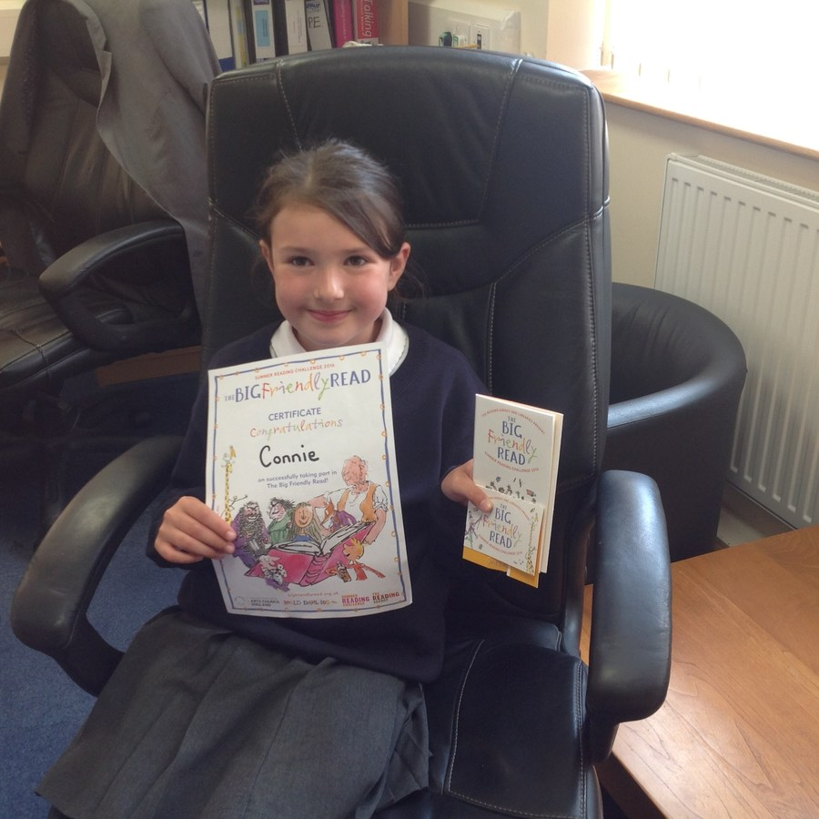 Connie and Alice take the Reading Challenge