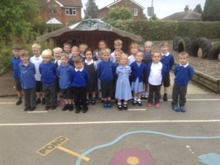 Class 1 on the first day of term