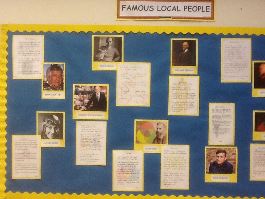 Famous local people