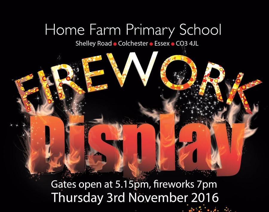 Home Farm firework display