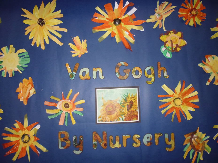 Nursery Artwork of Vincent Van Gogh