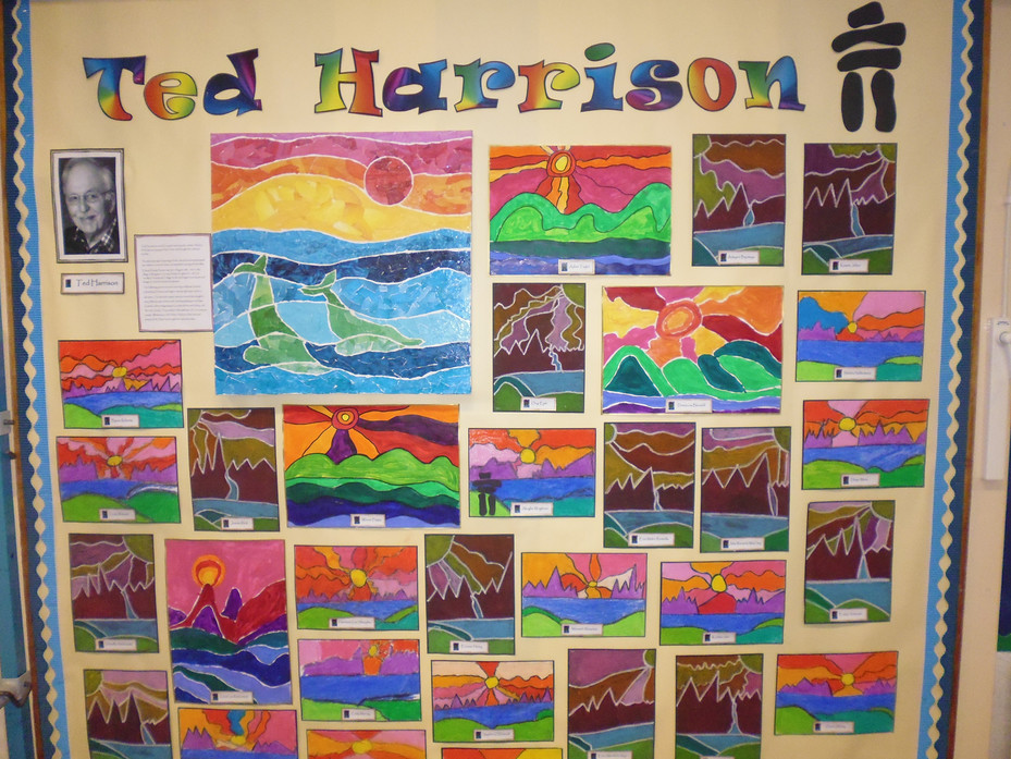 Year Two Artwork Ted Harrison