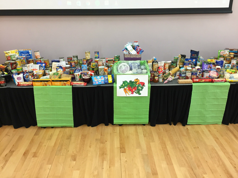 Thankyou to all parents and carers for their generosity in supporting our Harvest Festival. Donations will be shared with Streetlife, Care and Share and Comfort Zone