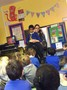 Antonio's mum helped us learn a song
