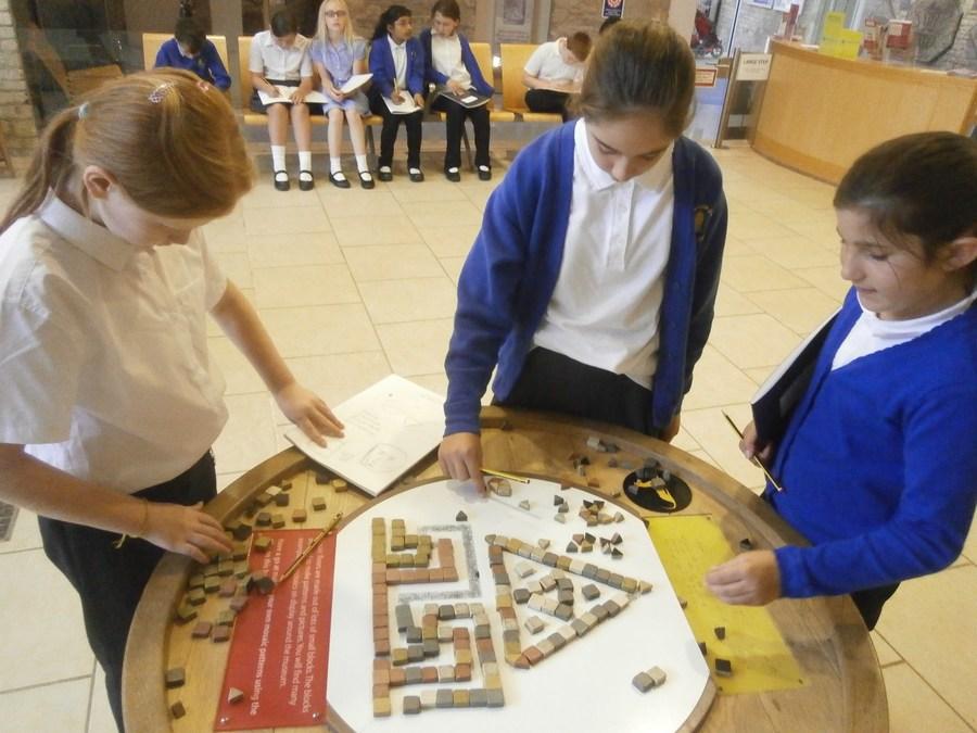 Leopard class explore Roman Invaders
