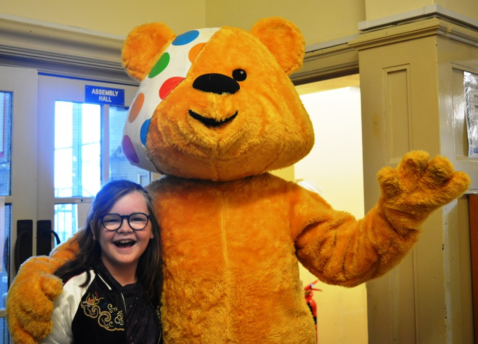 Children in Need & Pudsey Bear
