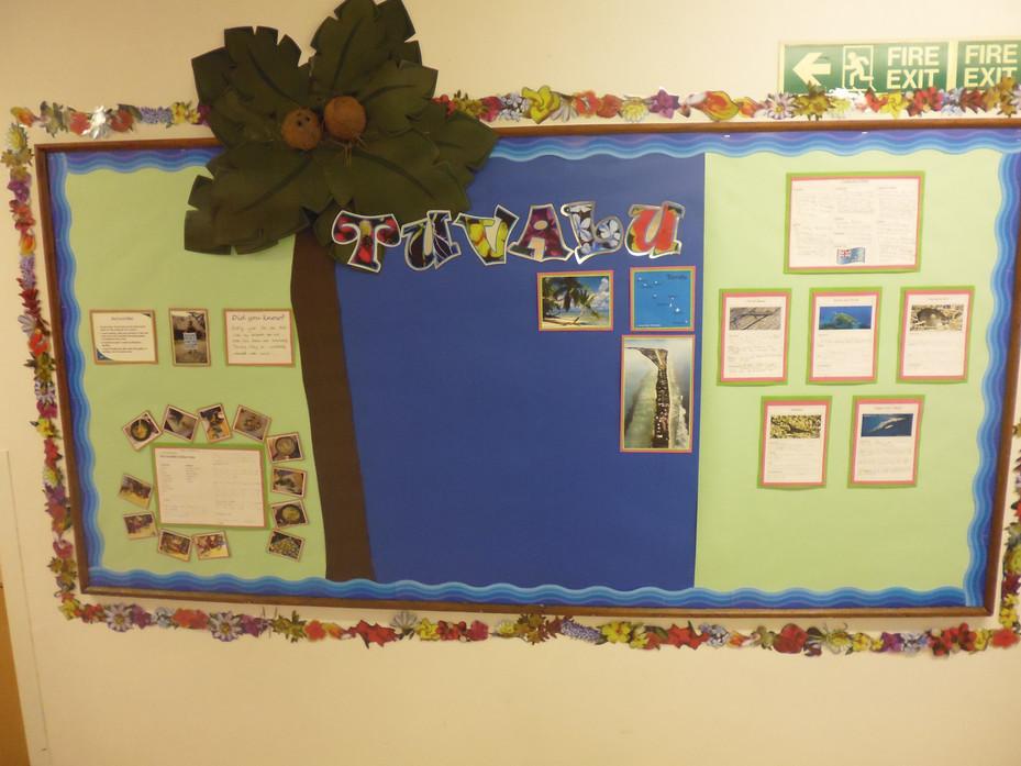 Year Two Tuvalu Display