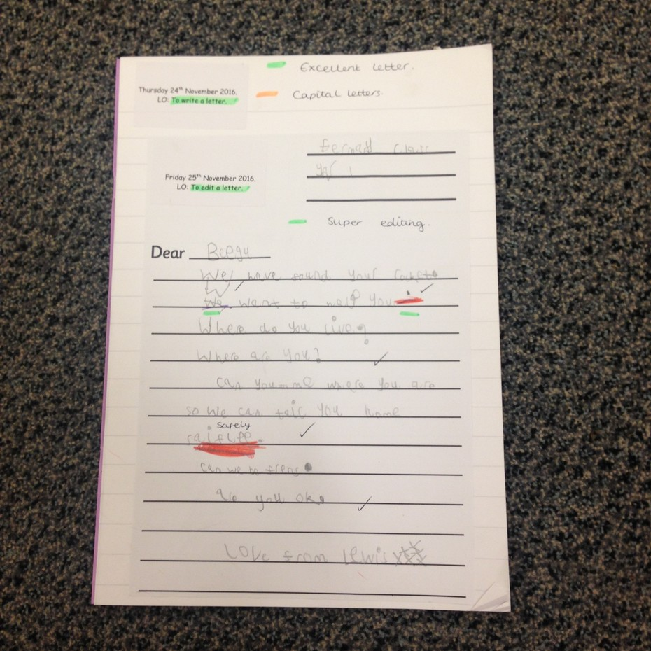 Writing a letter to headteacherblog