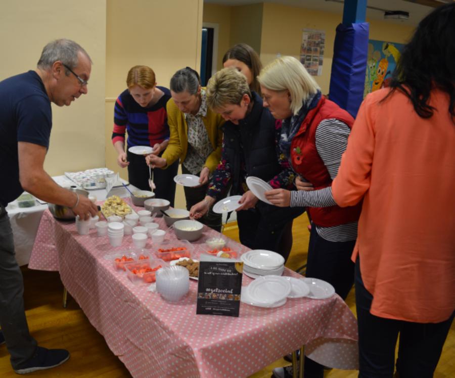 'My Secret Kitchen' event in November 2016