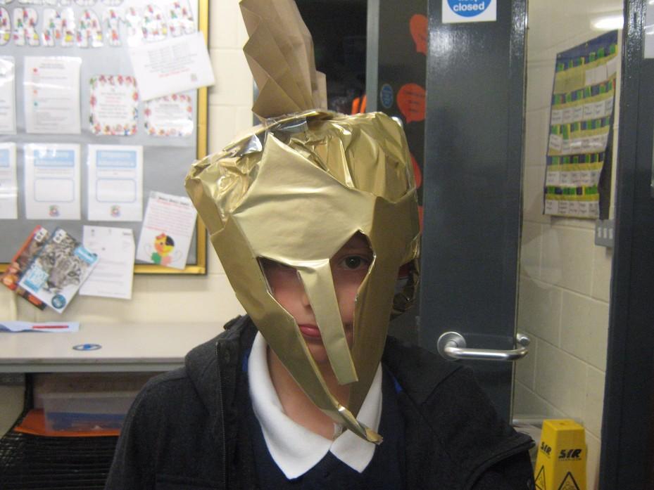 Iyran's Hoplite Helmet