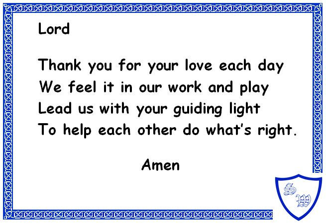 Morning Teachers Prayer