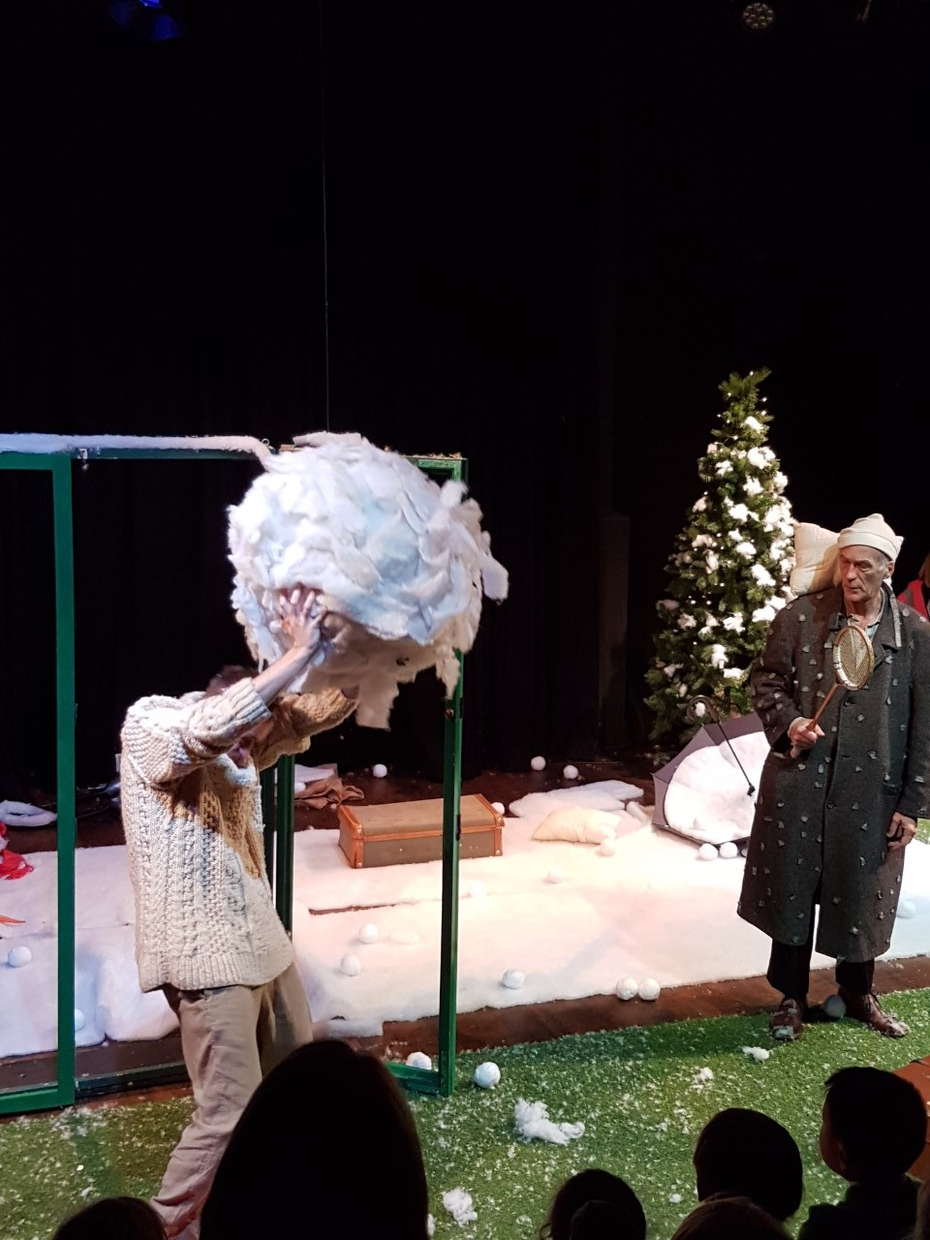 snow play and the theatre