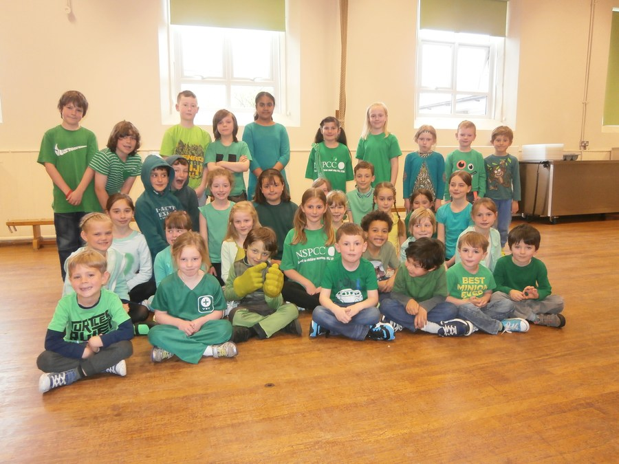 Green Gear day for the NSPCC
