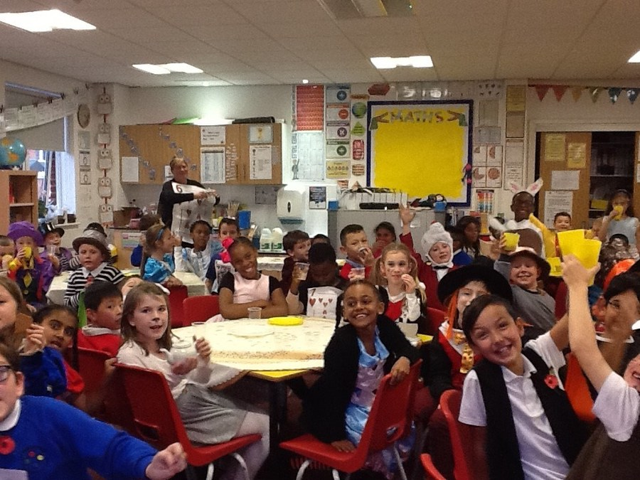 Celebrating Book Week with a Mad Hatter's Tea Party!