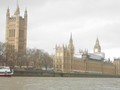 Westminster from the river...