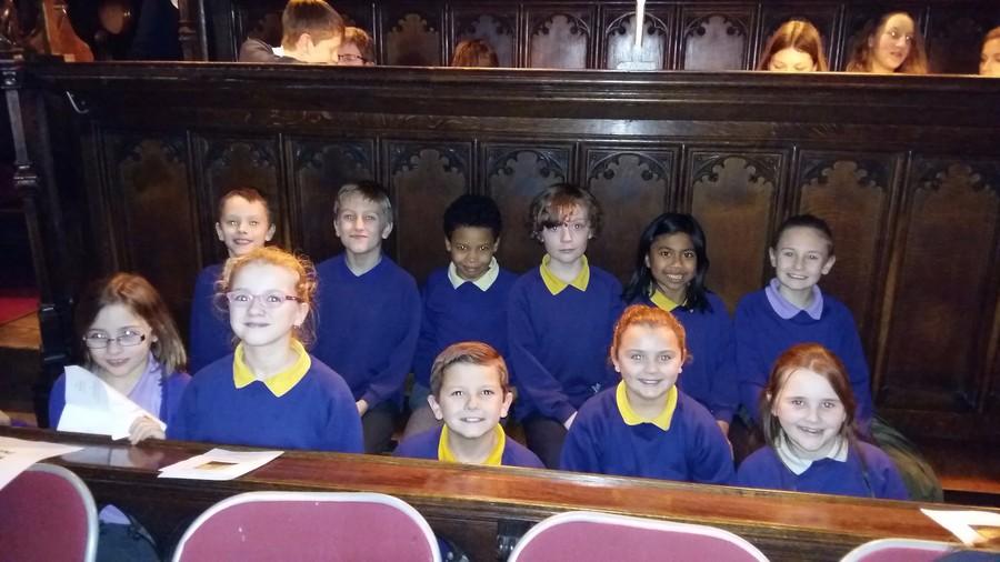 Singing at St John's College