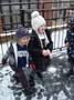 We enjoyed the first snow of this winter,