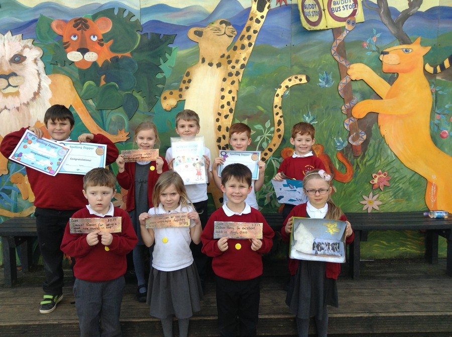 This Week's KS1 Merit Badge Winners