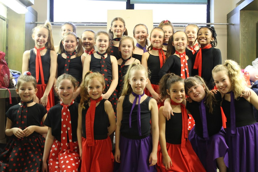 Dance Club 'rock and roll' at The Wyvern Theatre