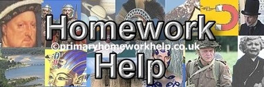 Primary Homework Curriculum Links