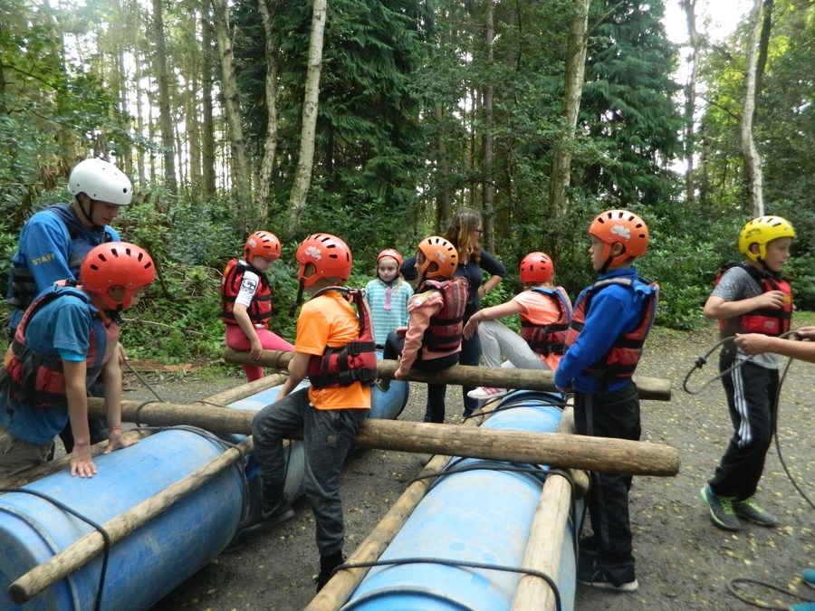 Raft Building at PGL with Y6