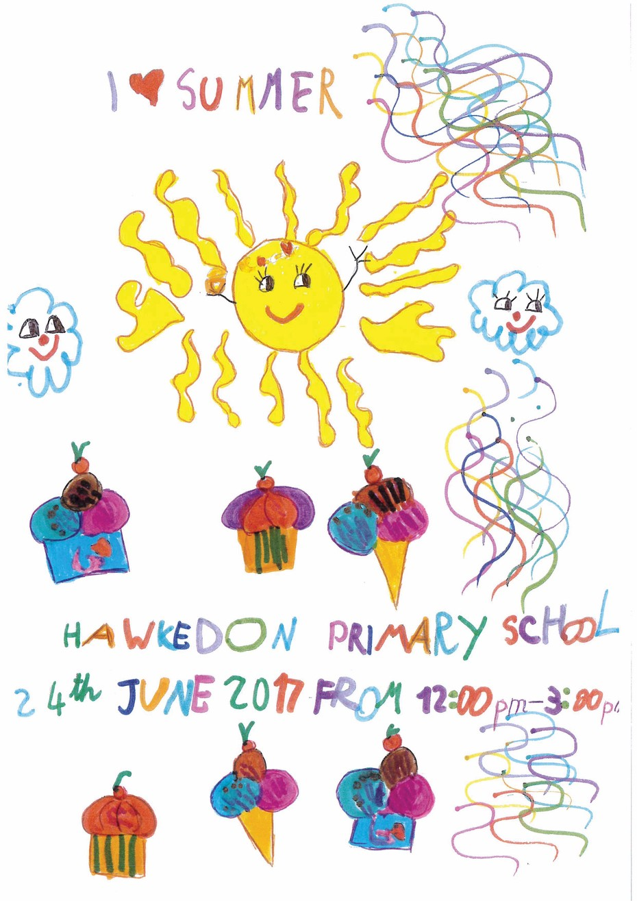 Summer Fayre 2017 poster competition winner
