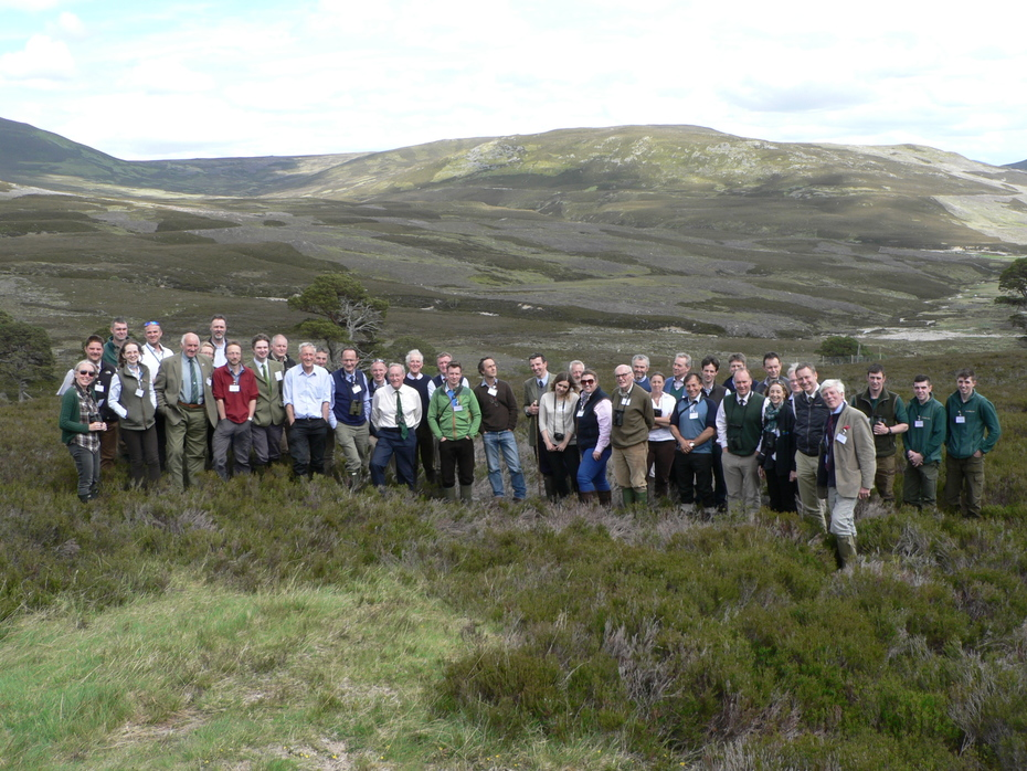Members at the Summer Meeting at Invercauld Estate June 2017
