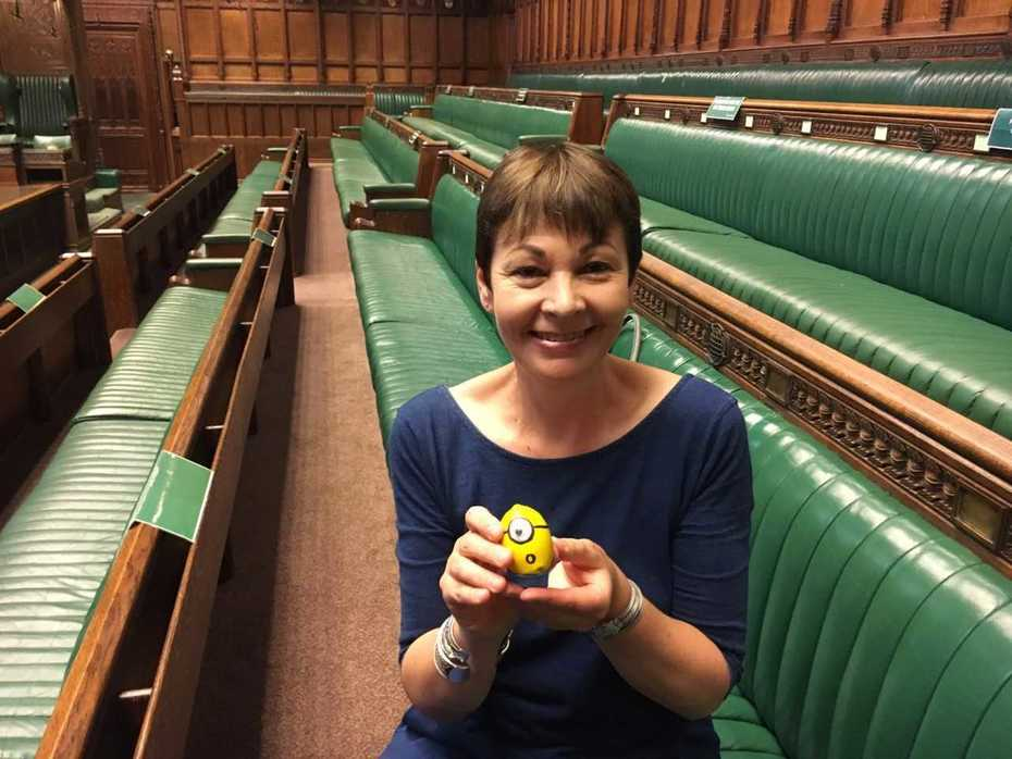 MInion Visits Parliament 3