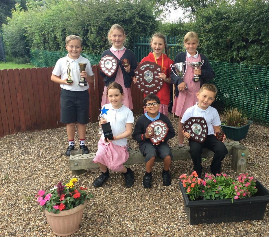 St Paul's Award Winners 2017