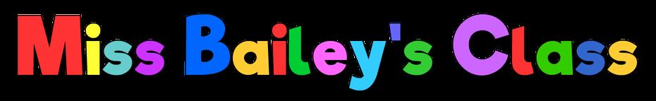 Miss Bailey