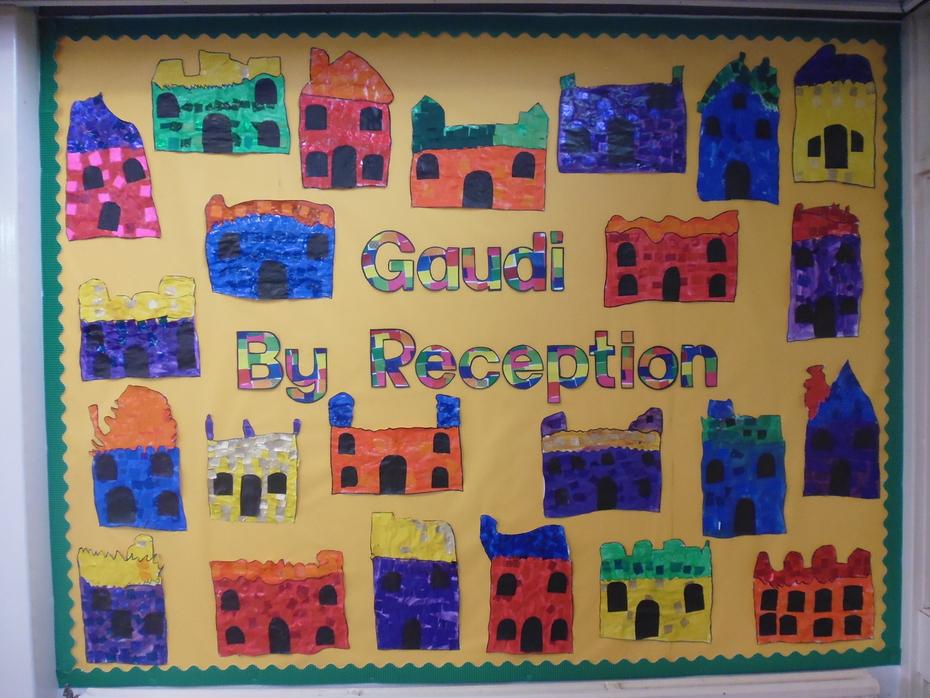 Reception Artwork of Gaudi