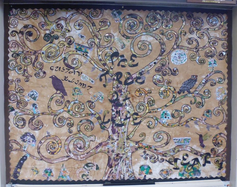 Year Four Artwork Gustav Klimt