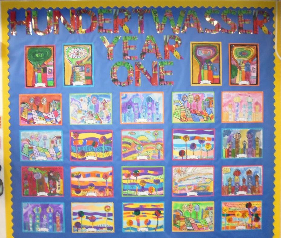 Year One Artwork Hundertwasser