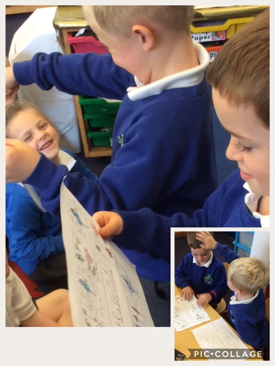 Sharing Little Rabbit Foo Foo story maps.