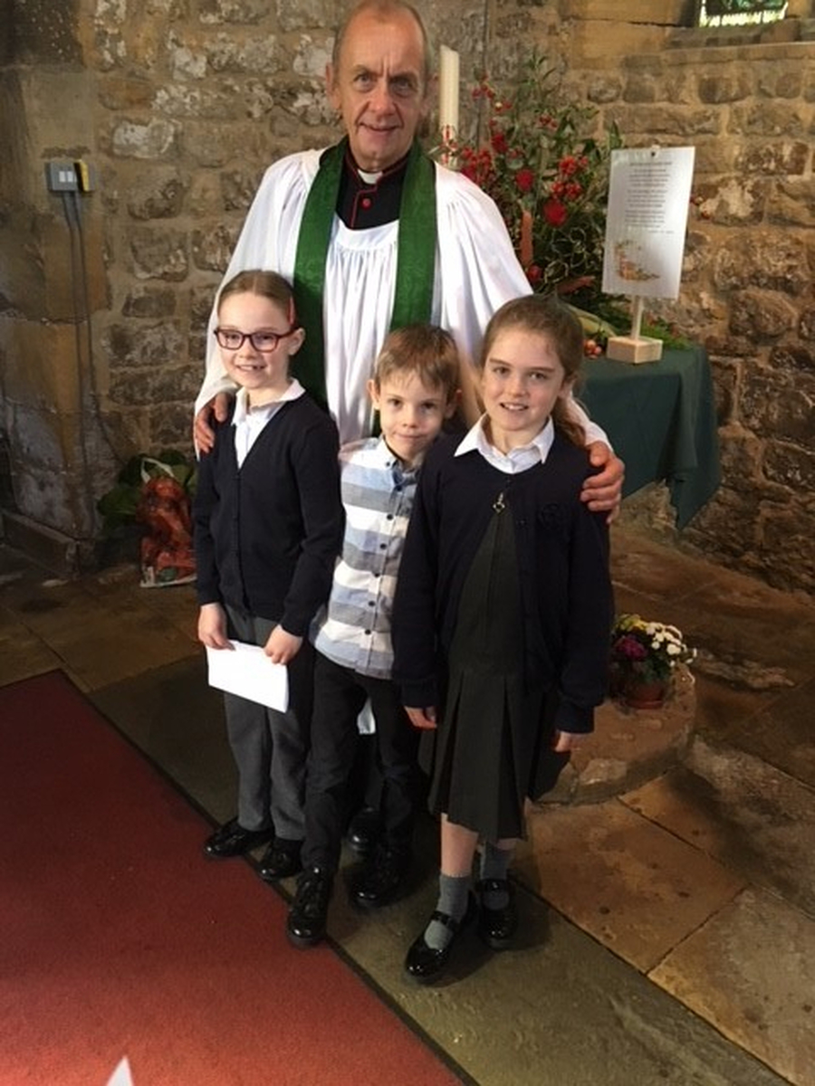 Harvest at St Peter's Church 2017