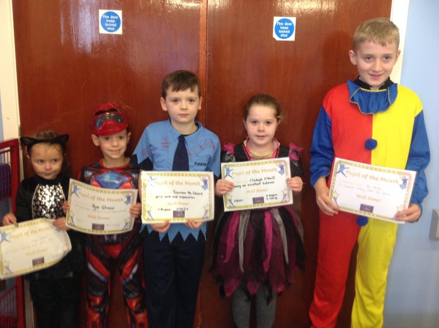 Freya, Ryan, Tiarnan, Clodagh & Jack