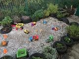 Sensory Garden & Construction<br>