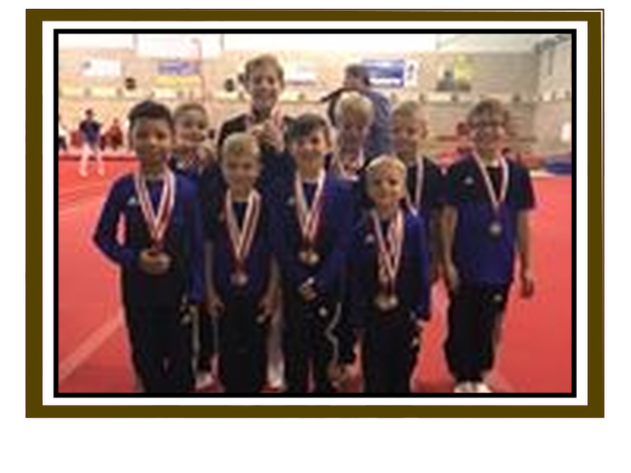 Congratulations to Soren Taylor for participating in the Milton Keynes Tom Wilson gymnastics competition and coming away with 4 medals!