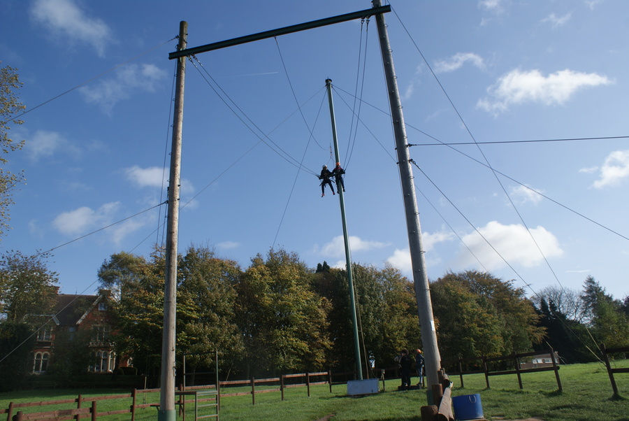 The 3G swing was frightening but funny at the same time.