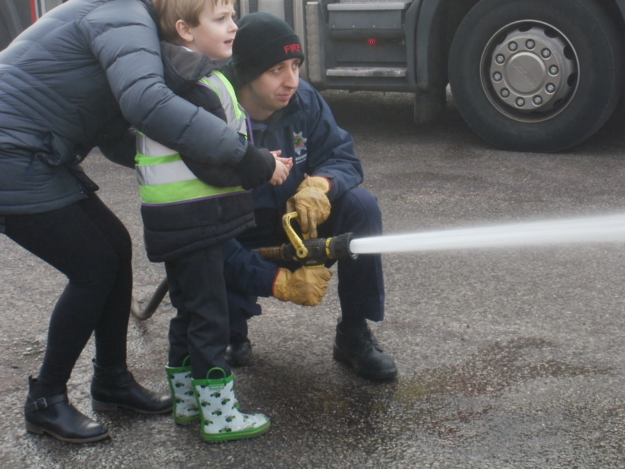 Visits from the firemen
