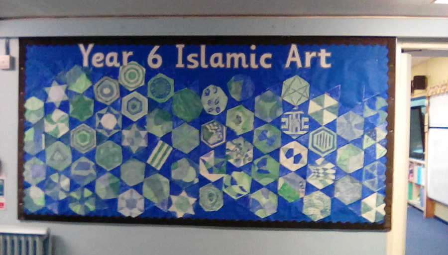 Year 6 - Islamic patterns with Mr Doyle
