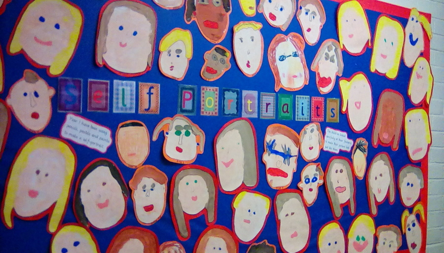 Year 1 - Self Portraits